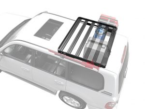 Front Runner Slimline II Toyota Land Cruiser 100 Roof Rack (Half Cargo Rack Foot Rail Mount) -0