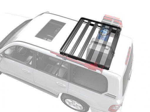Front Runner Slimline II Toyota Land Cruiser 100 Roof Rack (Half Cargo Rack Foot Rail Mount) -0