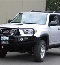ARB Black Toyota 4 Runner Deluxe Bull Bar Winch Mount Bumper 2010-2013-0