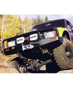 ARB Black Toyota Pickup Deluxe Bull Bar Winch Mount Bumper 1986-1995-0