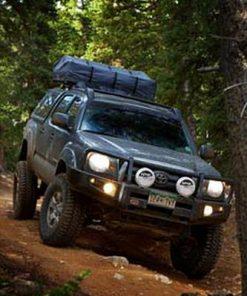 ARB Black Toyota Tacoma Deluxe Bull Bar Winch Mount Bumper 2005-2011-0