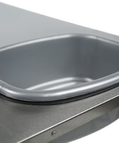 FRONT RUNNER STAINLESS STEEL PREP TABLE WITH BASIN -0