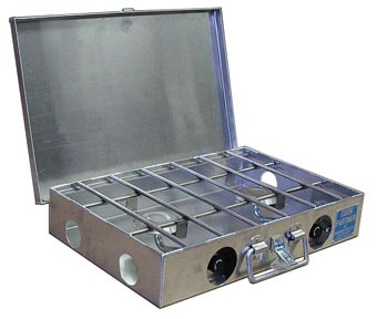 Partner Steel 2 Burner Stove-880