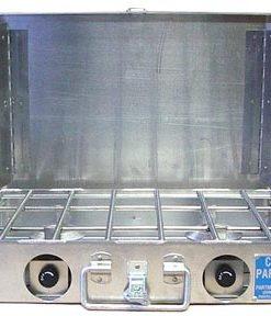 Partner Steel 2 Burner Stove With Windscreen-0