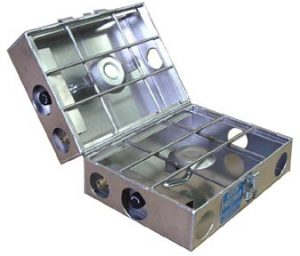 "Partner Steel 2 burner 9"" Stove-879"