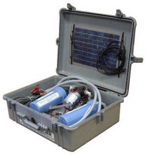 Partner Steel Aqua Partner in Pelican Case w/Solar Panel-0