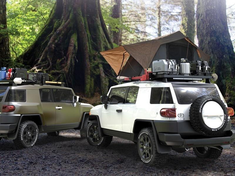 Front Runner Slimline Ii Toyota Fj Cruiser Roof Rack Full