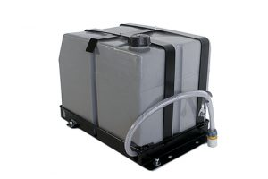FRONT RUNNER RACK MOUNT WATER TANK w Double Jerry Holder-40L (10.57 Gal) (discontinued)-0
