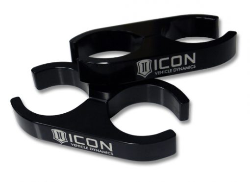ICON 2.0 Aluminum Series Shock Reservoir Clamp Kit - 2.0 to 2.0-0