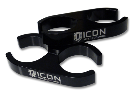 ICON 2.0 Aluminum Series Shock Reservoir Clamp Kit – 2.0 to 2.0-0