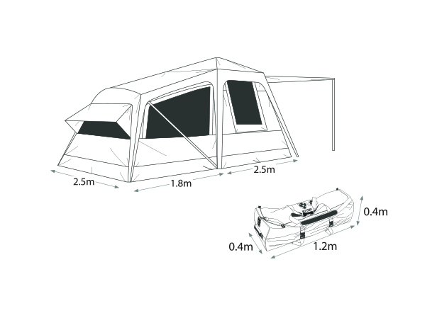 Jet Tent F-25X -1470  sc 1 st  Endless Horizon Outfitters & Jet Tent F-25X