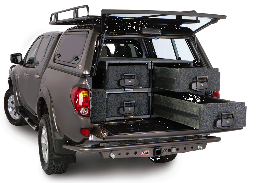 Arb Outback Solutions Cargo Drawer With Roller Floor