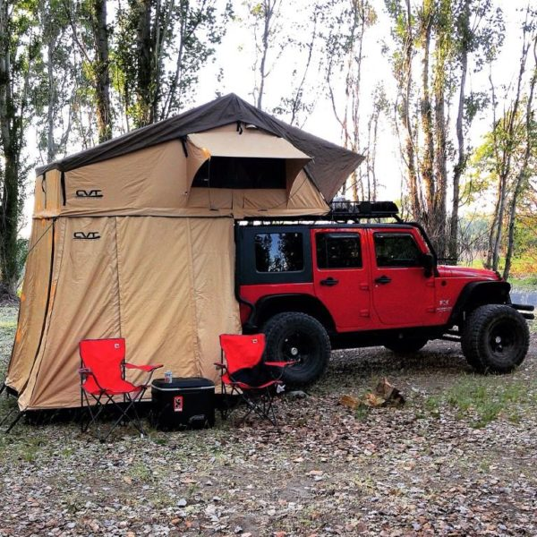 CVT Mt. Shasta Extended RoofTop Tent-0 & CVT Mt. Rainier Extended Summit Roof Top Tent