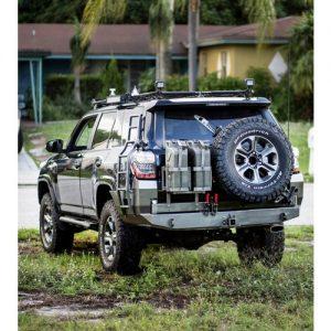 "Southern Style Offroad 5th gen 4Runner ""Modular"" rear plate bumper-0"