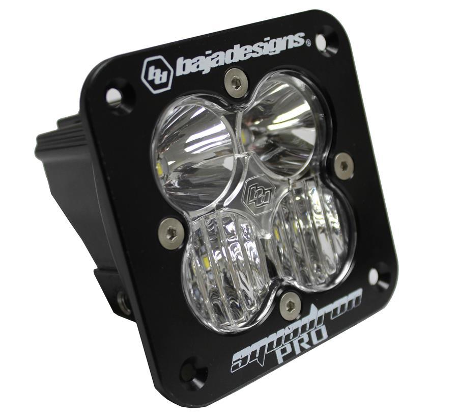 Baja Design Squadron PRO LED Light Black Flush Mount