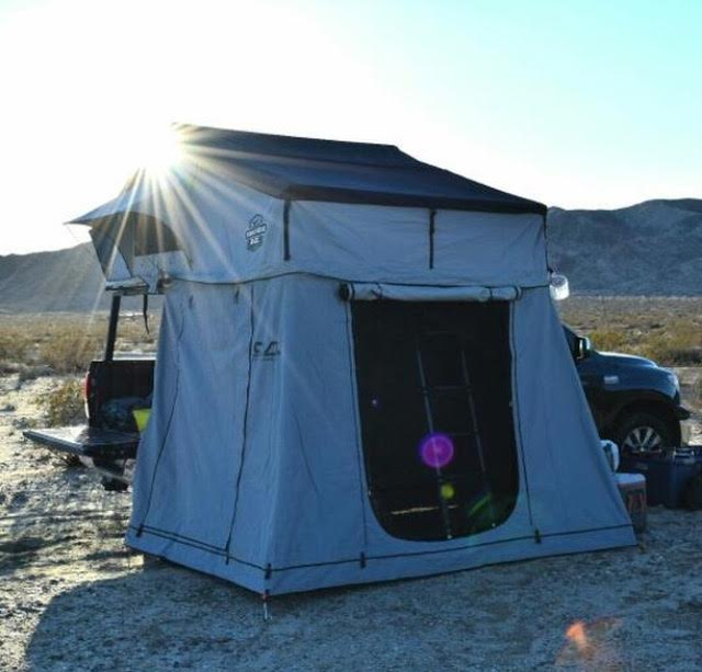 CVT-Mt-Denali-Roof-Top-Tents-Cascadia-Vehicle- & CVT Mt. Denali Extended Summit Roof Top Tent