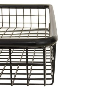 Steel Mesh Basket Half