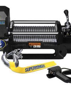Superwinch LP8500 12V Winch Steel Rope 2