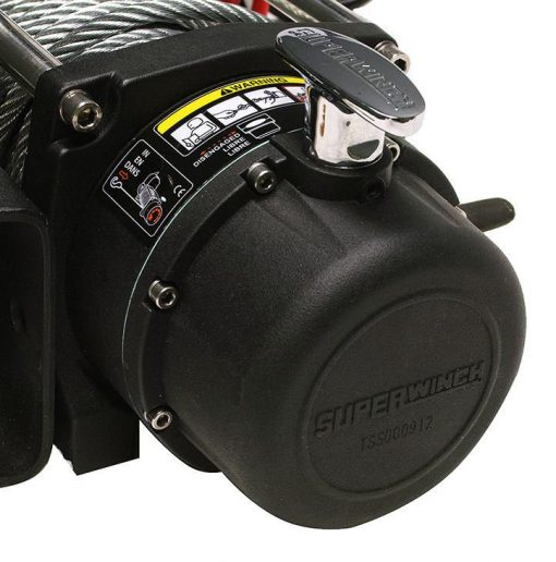 Superwinch Tiger Shark 11500SR 12V Winch Synthetic Rope 2